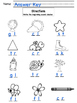 First sound consonant cluster printable. 2 versions for di