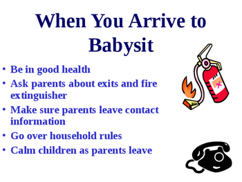 First time Babysitter Guide