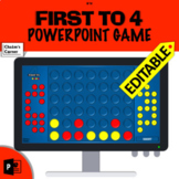 First to 4 - A Connect 4 style editable PowerPoint game