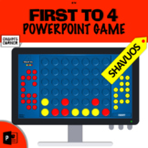 First to 4 - Shavuos!