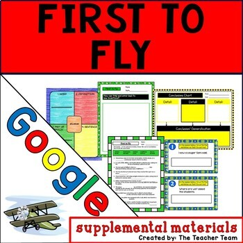 First to Fly Journeys 6th Grade Unit 5 Google Drive Resource