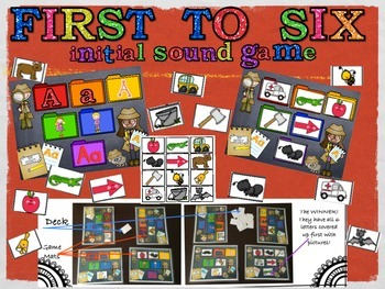 First to Six! Letters and Sounds