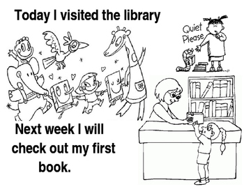 First visit to the library