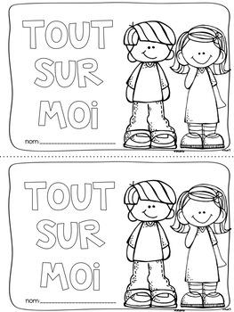 """First week booklet """"All About Me"""" (La rentrée Tout sur moi)"""