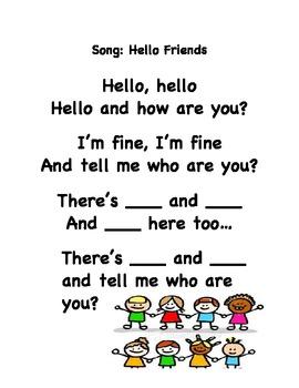 First week of Kinder English Language Development