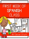 First week of Spanish 1 class