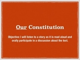 First week of school activity–the US constitution and clas