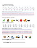 Alphabet Activities Packet A-Z