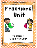 Fractions Unit *Common Core Aligned*