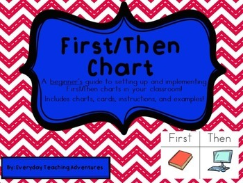 First/Then Charts for Beginners