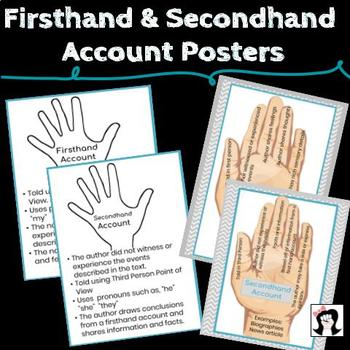 Firsthand Secondhand Account Posters