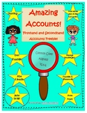 Firsthand and Secondhand Accounts Freebie!