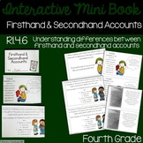 Firsthand and Secondhand Accounts Interactive Mini Book {RI.4.6}