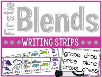 Firstie Blends Writing Strips
