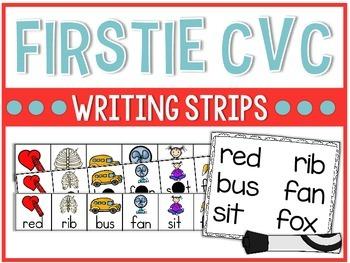 Firstie CVC Writing Strips