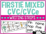 Firstie CVC/CVCe Mixed Writing Strips