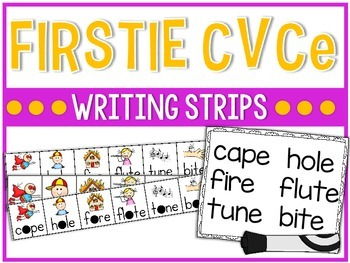 Firstie CVCe Writing Strips