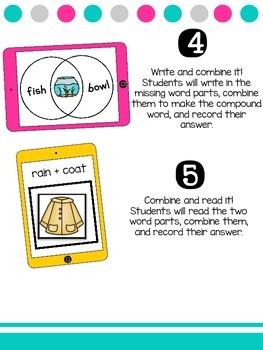 Firstie Compound Word Activities
