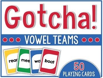 Firstie Gotcha! Vowel Teams