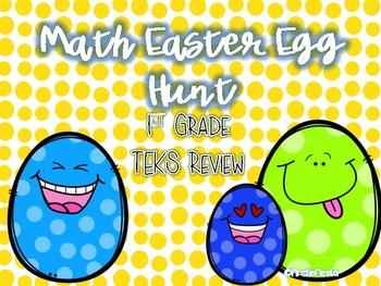 Firstie Math Easter Egg Hunt
