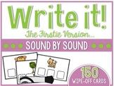 Firstie Write it Sound by Sound