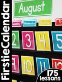 FirstieCalendar First Grade Calendar Curriculum   Homeschool Compatible  