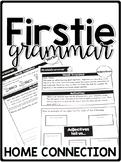 FirstieGrammar First Grade Grammar Home Connection - Newsletters