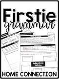 FirstieGrammar First Grade Grammar Home Connection - Newsletters