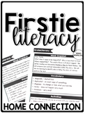 FirstieLiteracy™ First Grade Home Connection - Newsletters