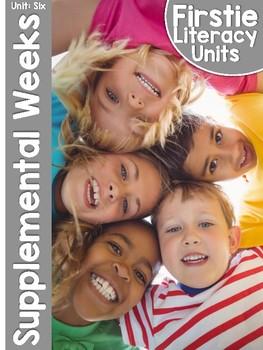 FirstieLiteracy™ Unit Six