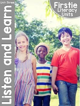 FirstieLiteracy™ Unit Three