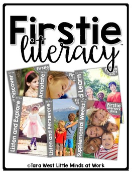 FirstieLiteracy® First Grade Close Reads Curriculum Units BUNDLE  + Homeschool