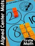 FirstieMath®: First Grade Math Aligned Center Mats | Homes
