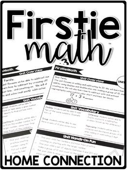 FirstieMath™ First Grade Math Curriculum Home Connection - Newsletters