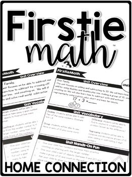 FirstieMath Curriculum Home Connection *Growing*