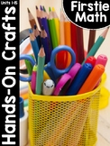 FirstieMath® First Grade Math Hands-On Crafts