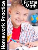 FirstieMath: First Grade Math Homework Practice