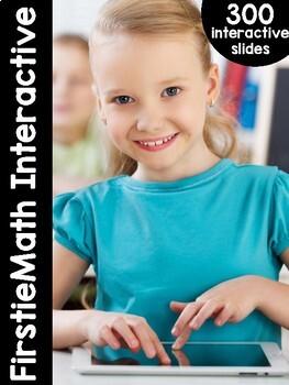 FirstieMath™ First Grade Math Interactive Files