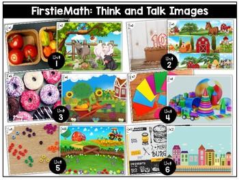 FirstieMath: First Grade Math Think and Talk