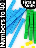 FirstieMath® Unit Nine: Numbers to 40