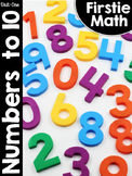 FirstieMath™ First Grade Math Unit One: Numbers to 10