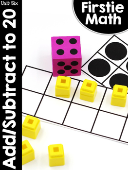 FirstieMath™ First Grade Unit Six: Add and Subtract Within 20