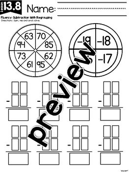 FirstieMath™ Unit Thirteen: Addition and Subtraction to 120