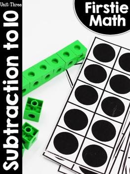 FirstieMath™ First Grade Math Unit Three: Subtraction to 10