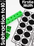 FirstieMath® First Grade Math Unit Three: Subtraction to 10