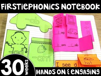 FirstiePhonics™ Interactive Notebook