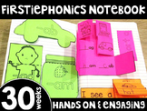 FirstiePhonics® First Grade Phonics Interactive Notebook