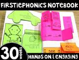 FirstiePhonics® First Grade Phonics Interactive Notebook