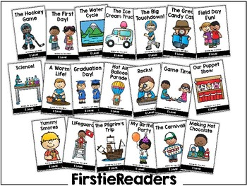 FirstieReaders Level: E *ENGLISH AND SPANISH*