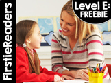 FirstieReaders™ Level: E FREE PREVIEW *ENGLISH AND SPANISH*